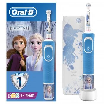 ЭЛЕКТРИЧЕСКАЯ ЗУБНАЯ ЩЕТКА Oral-B Frozen (с наклейками)